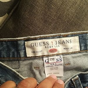 Guess cute boot blue jeans